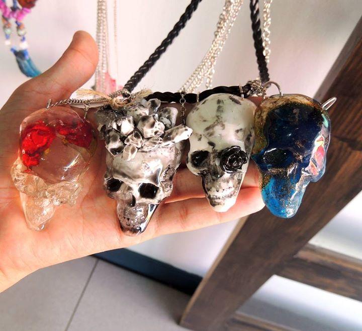 Bijoux de crâne par Pata E Perro